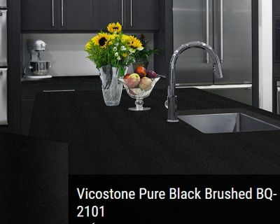 VICOSTONE-BQ2101-Pure Black Brushed