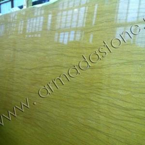 Фото слэба натурального мрамора Венеция Голд