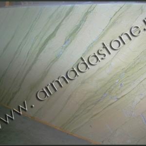 Фото слэба натурального мрамора Верде Аквамарин