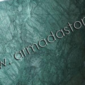 Фото слэба натурального мрамора Индиан Грин