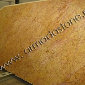 Фото слэба натурального мрамора Крема Валенсия