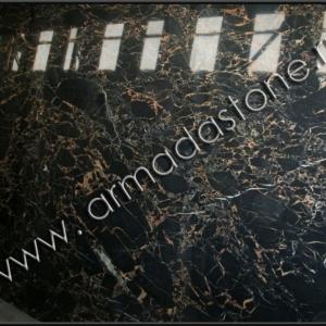 Фото слэба натурального мрамора Нью Порторо